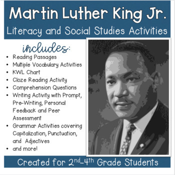 Martin Luther King, Jr: Social Studies with Literacy Activ