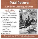 Paul Revere - No Prep Lesson Planls for Grades 2-4 with Li