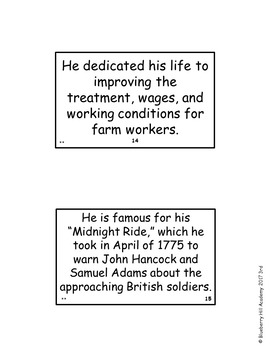 Historical Americans #2