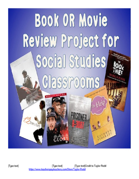 Historical Book & Movie Review Essay Project