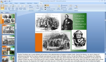 Historical Case Study: Irish Nationalism