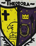 Historical Coat of Arms Painting Social Studies and Art Assignment