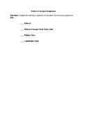 Historical Concepts Assignment Packet