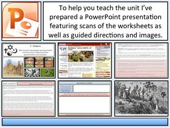 Historical Concepts & Schema - Complete Unit