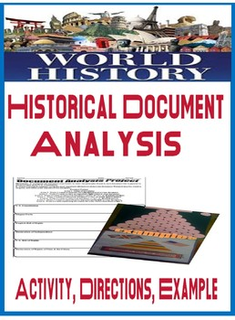 Historical Document Analysis Activity Bill of Rights, Magna Carta, Rights of Man