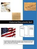 Historical Documents Sort