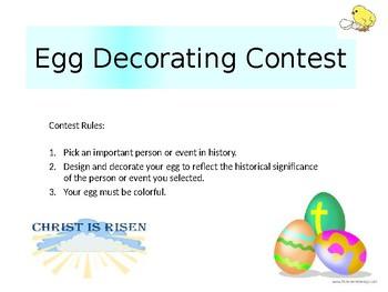 Historical Easter Egg Creation