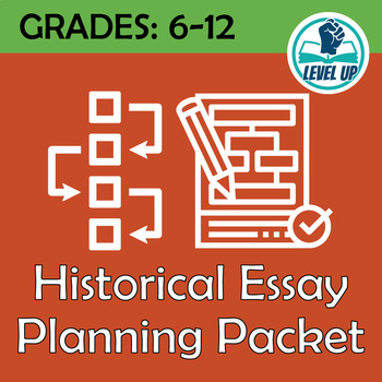 Historical Essay Planning Packet
