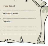 Historical Fiction Graphic Organizer