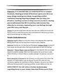 Historical Fiction Analysis Essay grades 9-12