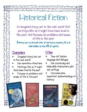 Historical Fiction Anchor Chart