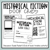 Historical Fiction Book Clubs (Digital & Paper Options)