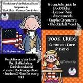 Historical Fiction/Book Clubs Common Core & More! Bundle