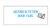 Historical Fiction Book Clubs Jamboard Grade 4