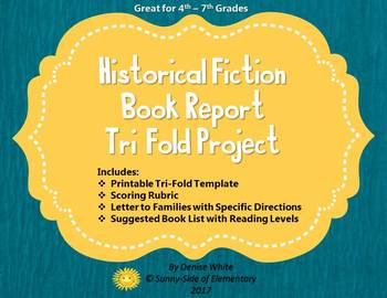 Historical Fiction Book & History Report