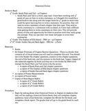 Historical Fiction Book Report Lesson Plan
