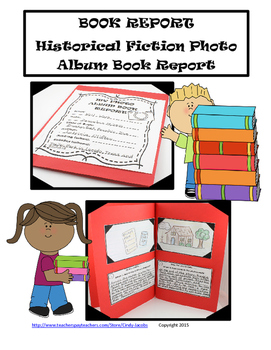 Historical Fiction Book Report Project, Photo Album Book Report