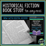 Historical Fiction Book Study and Activities   Novel Study and Reading Responses