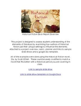 Historical Fiction Book Talk