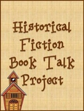 Historical Fiction Book Talk Project