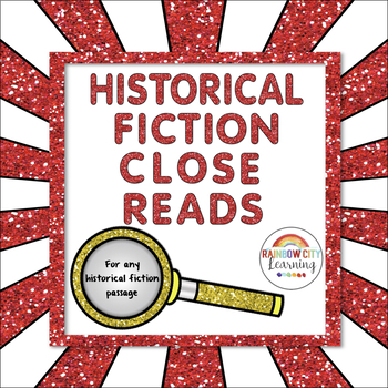 Historical Fiction Close Reads for Any Passage