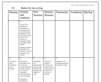 Historical Fiction (Reading Comprehension Worksheet)