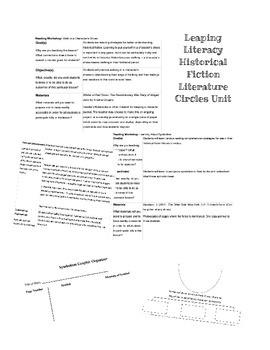 Historical Fiction Fourth/Fifth Grade Literature Cirlces