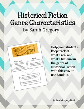Historical Fiction Genre Characteristics