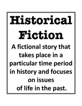Historical Fiction Genre Notes