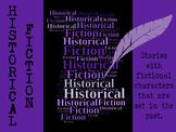 Historical Fiction Genre Poster