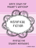 Historical Fiction Genre Study for Interactive Notebooks