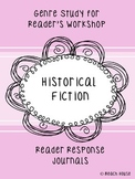 Historical Fiction Genre Study for Reader's Reponse Journals