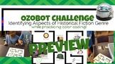 Historical Fiction Genre Study using Ozobot!