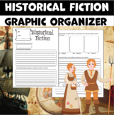 Historical Fiction Graphic Organizer for Reading