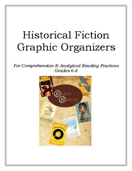 Historical Fiction Graphic Organizers