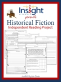 Historical Fiction Independent Reading Project Grades 4-6