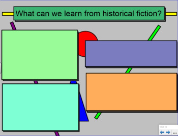 Historical Fiction Introductory Lesson