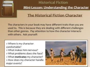 Historical Fiction Mini-Lessons