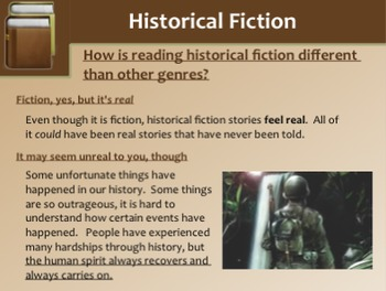 Historical Fiction Mini-Lessons