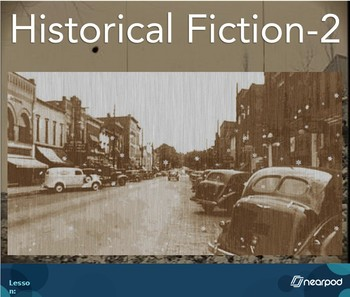 Historical Fiction Mentor Lesson-Star of Fear, Star of Hope