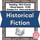Historical Fiction Book Report and Genre Study CCSS Grades