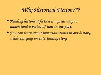 Historical Fiction PPT by KMediaFun