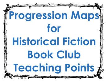 Historical Fiction Progression Maps