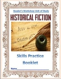 Historical Fiction: Reader's Workshop Unit (Common Core Skill Development)