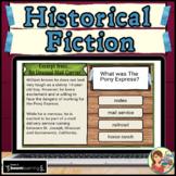 Historical Fiction Passages Boom Cards (Set 2)