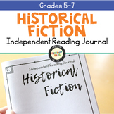 Historical Fiction Reading Response Journal