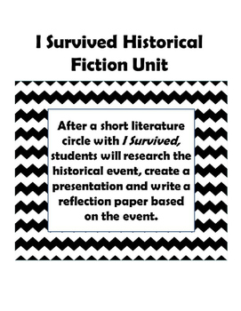 Historical Fiction Research and Paper