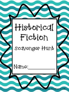 Historical Fiction Scavenger Hunt