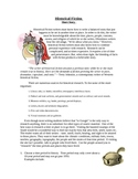 Historical Fiction Story Writing Project - Creative Writing