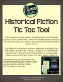 Historical Fiction Tic Tac Toe Choice Board